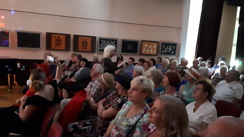 Koncert Rosti - seniorzy Dom Sąsiedzki- klub silver