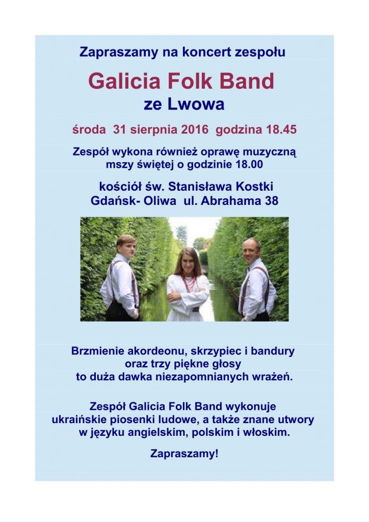 Galicia Folk Band  św. Stanisława Kostki   31.08